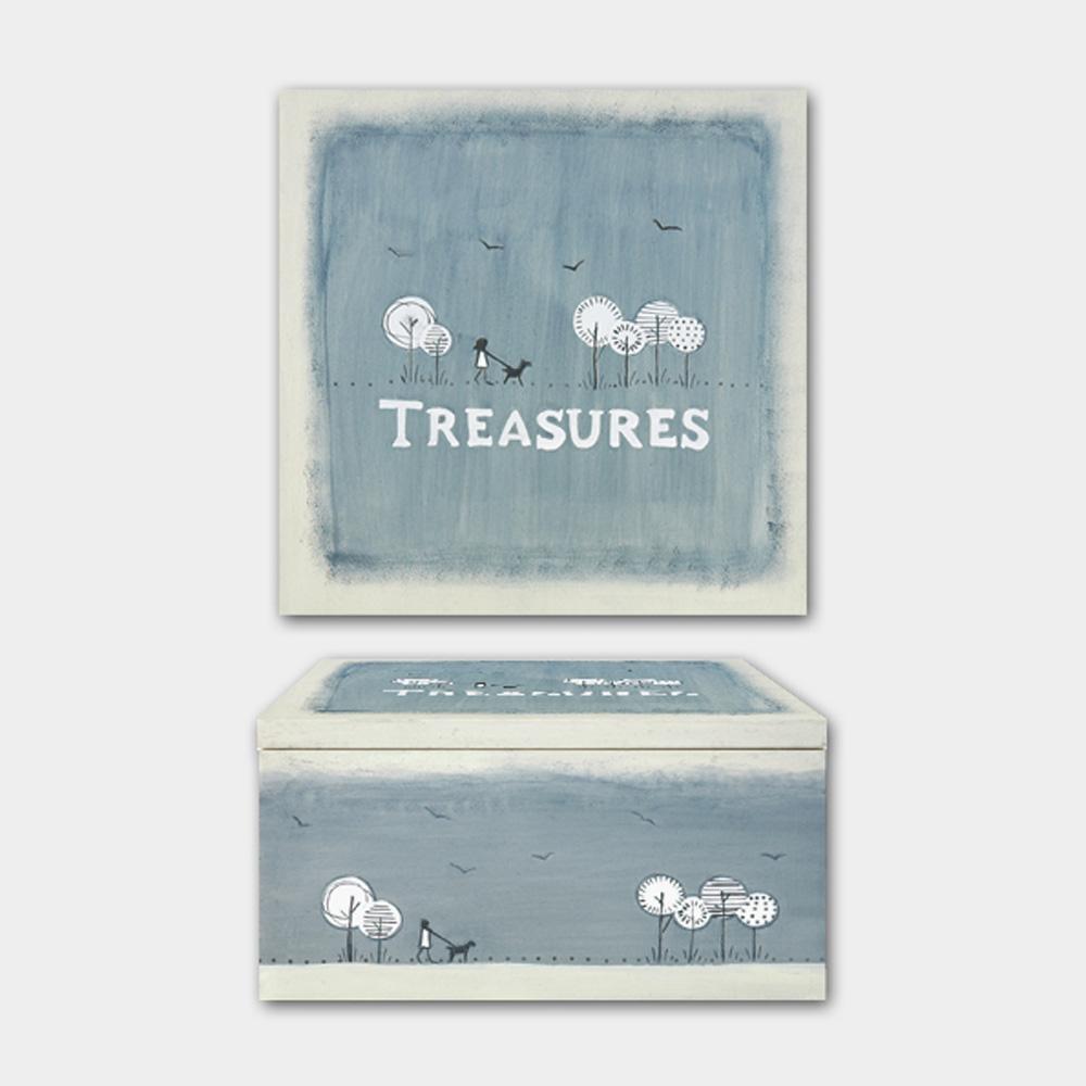 East of India Treasures Keepsake Box