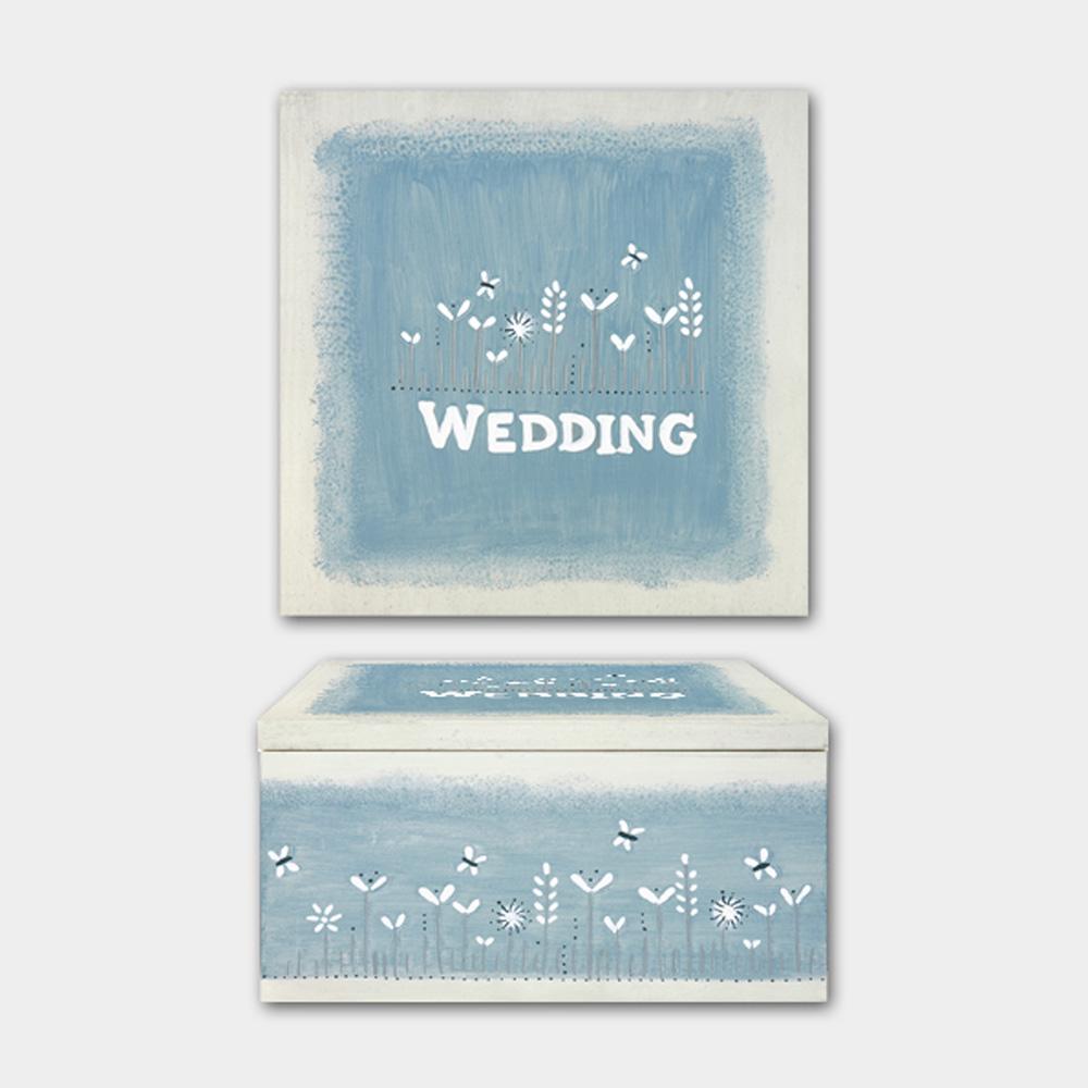 East of India Wedding Keepsake Memory Box Wedding Gift