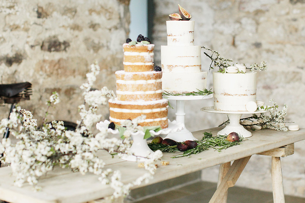 Vintage Rustic Wedding Cake Ideas