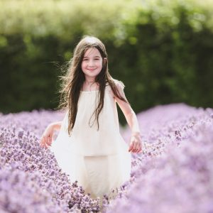 Botanicals Flower Girls with Lavender