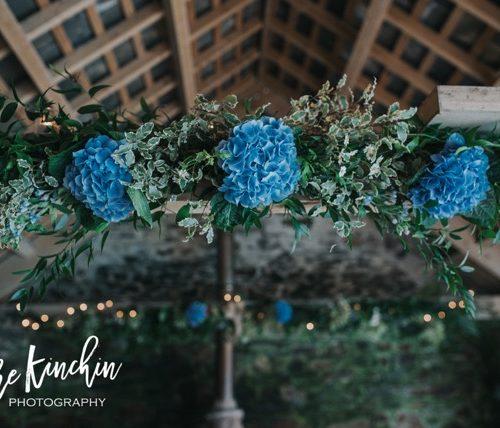 Botanicals Lisa and Panni Blue Flowers