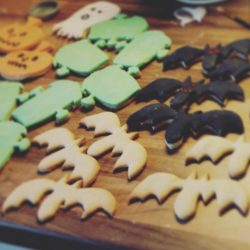 Childrens Halloween Craft Projects Bat Biscuits