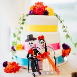 Mexican Theme Wedding Cake