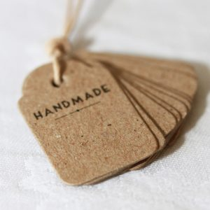 Handmade Tags for Wedding Placecards