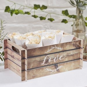 Crate Wedding Decoration