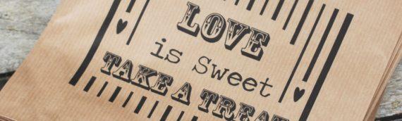 Sweet Bar Paper Bags
