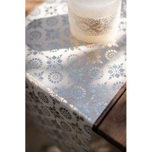 Silver Wedding Table Runner