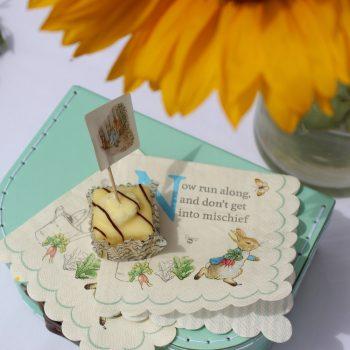 Peter Rabbit Party Bag Ideas Place Setting Napkins