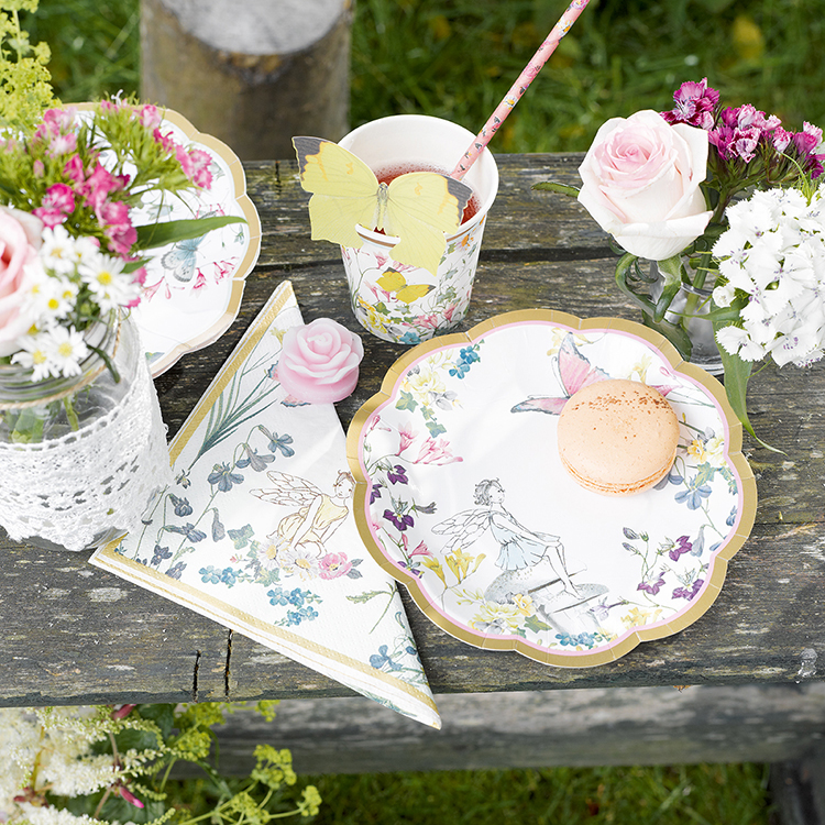 Truly Fairy Party Plates and Party Napkins